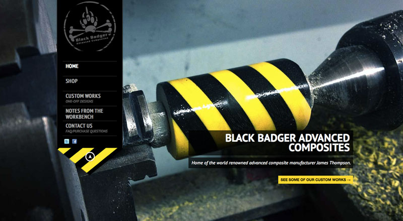 blackbadger-website