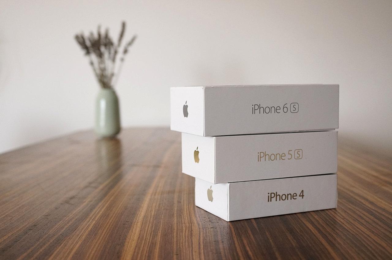 Packagings Apple - iPhone